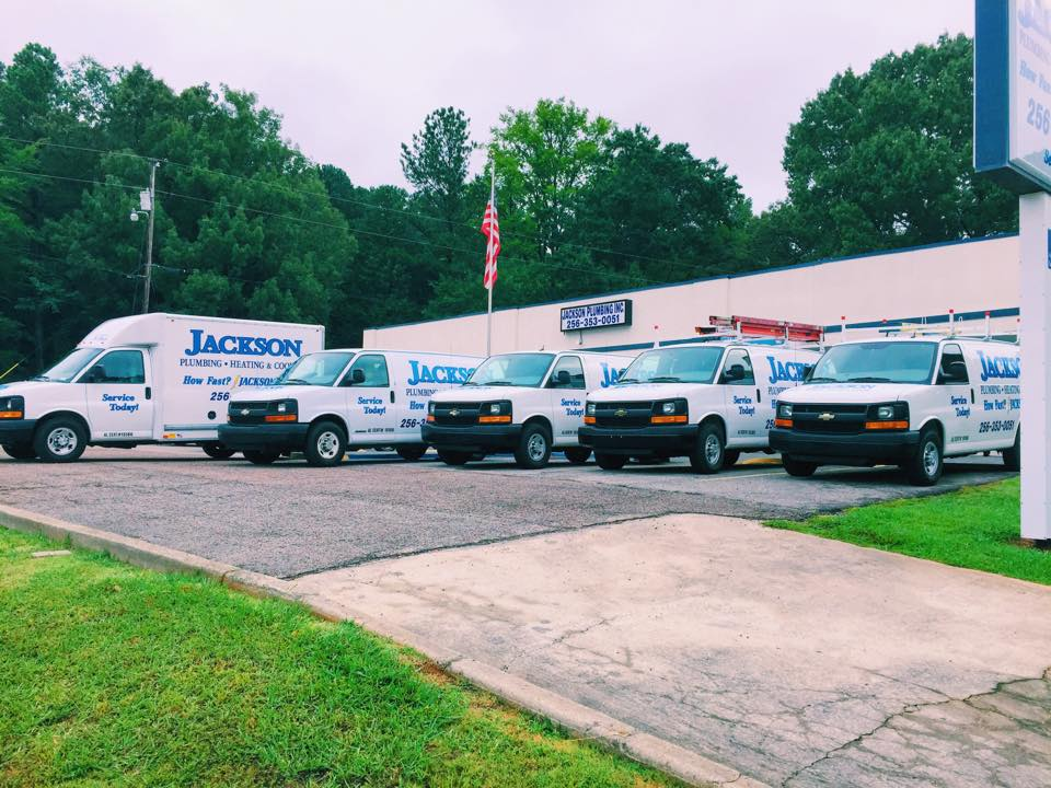Jackson Plumbing, Heating & Cooling Vans